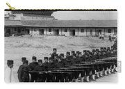 Korean Soldiers At The Old Royal Palace In Seoul - C 1904 Carry-all Pouch