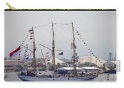 Kri Dewaruci Passing By Fort Mchenry Carry-all Pouch