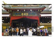 Kwan Im Tong Hood Cho Buddhist Temple In The Bugis Area In Singa Carry-all Pouch