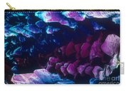 L. Histidine Crystals Carry-all Pouch by M. I. Walker