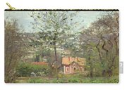 La Maison Rose Carry-all Pouch by Camille Pissarro