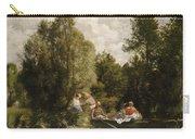 La Mare Aux Fees Carry-all Pouch by Pierre Auguste Renoir