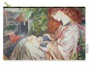 La Pia De Tolomei Carry-all Pouch by Dante Charles Gabriel Rossetti