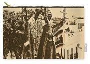 La Rogativa Sculpture Old San Juan Puerto Rico Rustic Carry-all Pouch