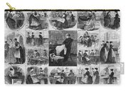 Labor: Women, 1868 Carry-all Pouch