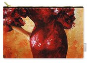 Lady In Red 33 Carry-all Pouch