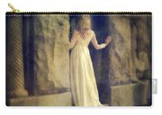 Lady In White Gown In Doorway Carry-all Pouch