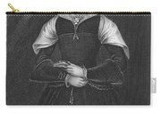 Lady Jane Grey (1537-1554) Carry-all Pouch