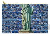 Lady Liberty Mosaic Carry-all Pouch