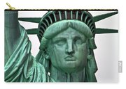 Lady Liberty Up Close Carry-all Pouch
