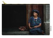 Lady Of Antigua Carry-all Pouch