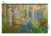 Lady Of The White Birch Carry-all Pouch