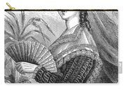 Lady With Fan, C1878 Carry-all Pouch