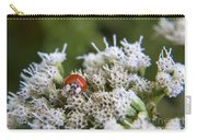 Ladybug Atop The Flowers Carry-all Pouch