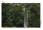 Lafayette Meeks Cemetery Appomattox Virginia Carry-all Pouch by Teresa Mucha