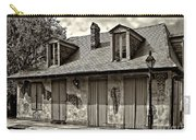 Lafittes Blacksmith Shop Bar In Sepia Carry-all Pouch