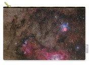 Lagoon Nebula And Trifid Nebula Carry-all Pouch