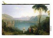 Lake Avernus - Aeneas And The Cumaean Sibyl Carry-all Pouch