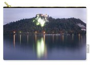 Lake Bled Castle At Dawn Carry-all Pouch