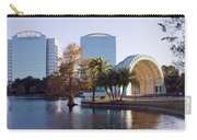 Lake Eola's  Classical Revival Amphitheater Carry-all Pouch by Lynn Palmer