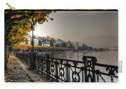 Lake Front With Autumn Trees Carry-all Pouch