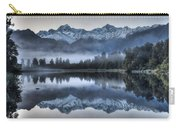 Lake Matheson In Predawn Winter Light Carry-all Pouch