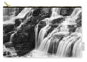 Lake Mcdonald Falls Glacier National Park Carry-all Pouch