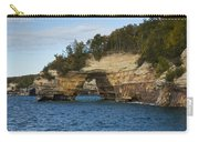 Lake Superior Pictured Rocks 17 Carry-all Pouch