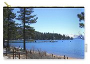 Lake Tahoe Dock Carry-all Pouch