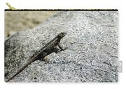 Lake Tahoe Lizard On A Hot Rock Carry-all Pouch