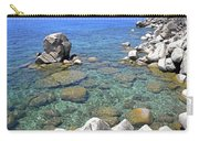 Lake Tahoe Shore Carry-all Pouch