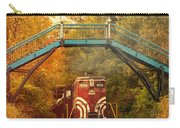 Lake Winnipesaukee New Hampshire Railroad Train In Autumn Foliage Carry-all Pouch