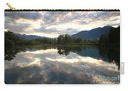 Lake With Clouds Carry-all Pouch