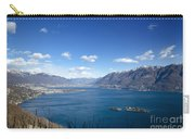 Lake With Islands And Snow-capped Mountain Carry-all Pouch
