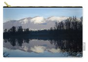 Lake With Mountain Carry-all Pouch