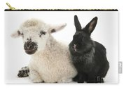 Lamb And Rabbit Carry-all Pouch