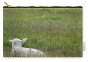 Lamb In Pasture, Alberta, Canada Carry-all Pouch