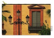Lamp And Window In Sevilla Spain Carry-all Pouch