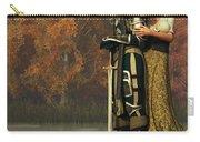 Lancelot And Guinevere Carry-all Pouch by Daniel Eskridge