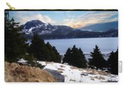 Land With A View Painterly Carry-all Pouch