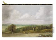 Landscape - Ploughing Scene In Suffolk Carry-all Pouch