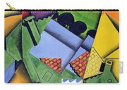 Landscape And Houses At Ceret Carry-all Pouch