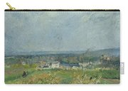 Landscape In Pontoise Carry-all Pouch by Camille Pissarro