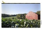 Landscape Soybean Field In Morning Sun Carry-all Pouch