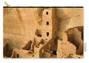 Landscape View Of Square Tower Carry-all Pouch