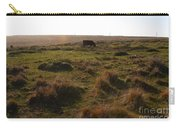Landscape With Cow Grazing In The Field . 7d9935 Carry-all Pouch