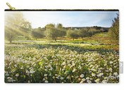 Landscape With Daisies Carry-all Pouch