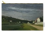Landscape With Stormy Sky Carry-all Pouch