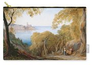 Landscape With View Of Lerici Carry-all Pouch