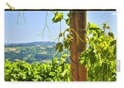 Landscape With Vineyard Carry-all Pouch by Elena Elisseeva